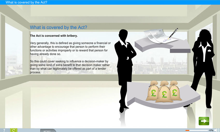 Bribery Act e-learning course