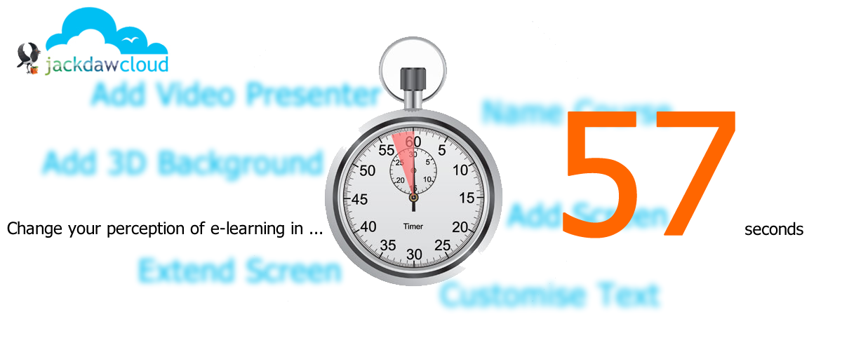 jackdaw e-learning authoring in 57 seconds
